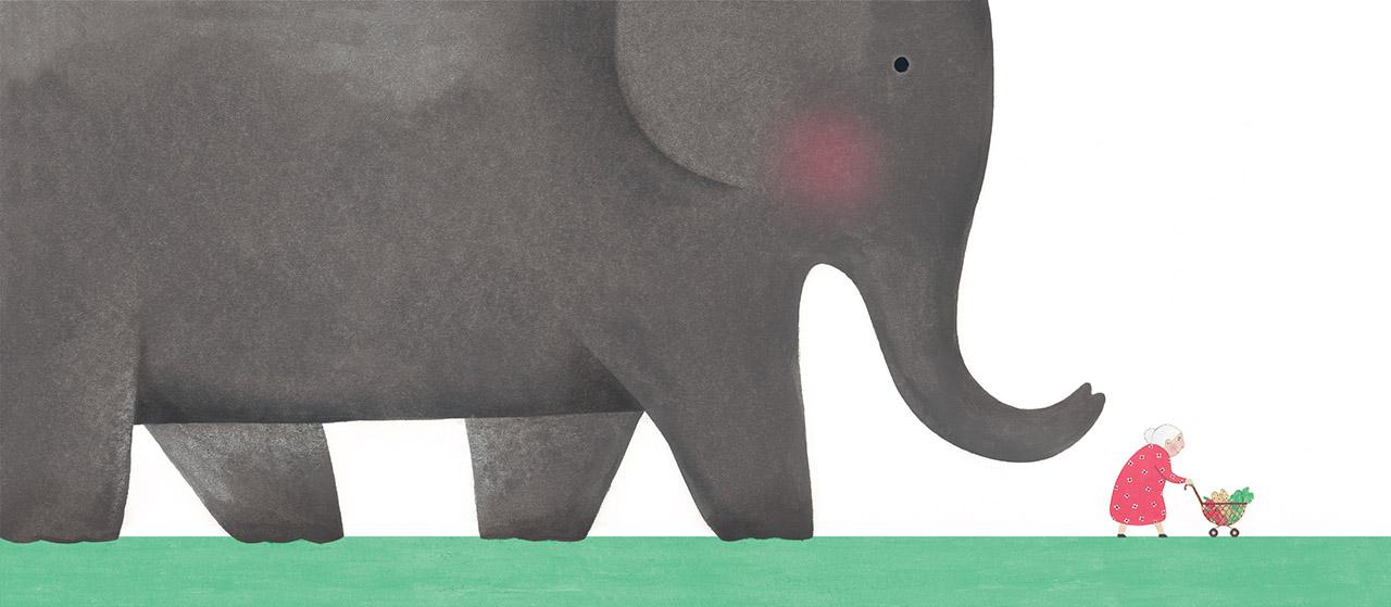 Reza Dalvand - Mrs Bibi's Elephant