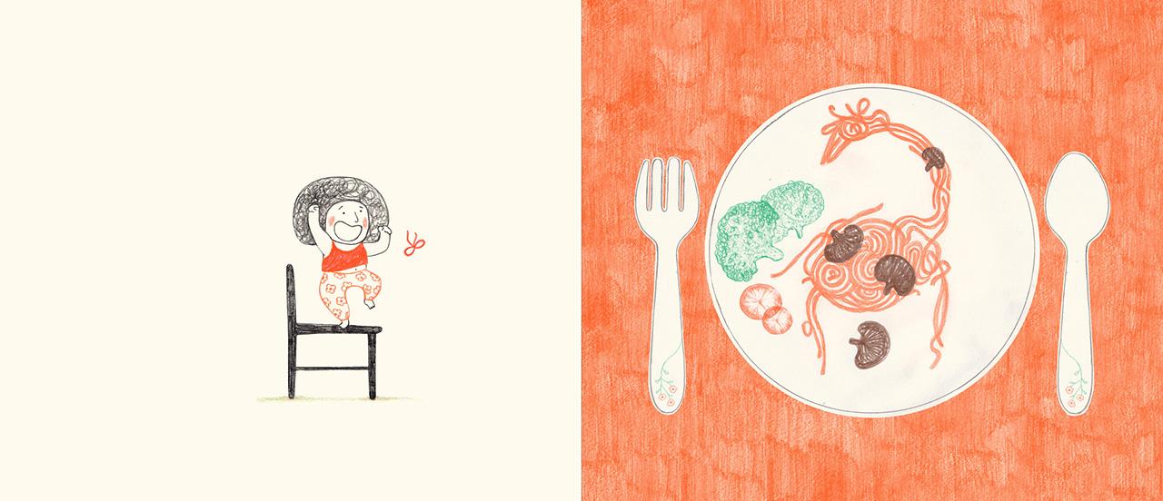 Gratin d'hippopotame (Giraffe Spaghetti and Turtle Salad)